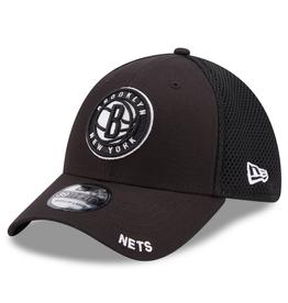 New Era Men's 39THIRTY Classic Neo B3 Hat Brooklyn Nets Black