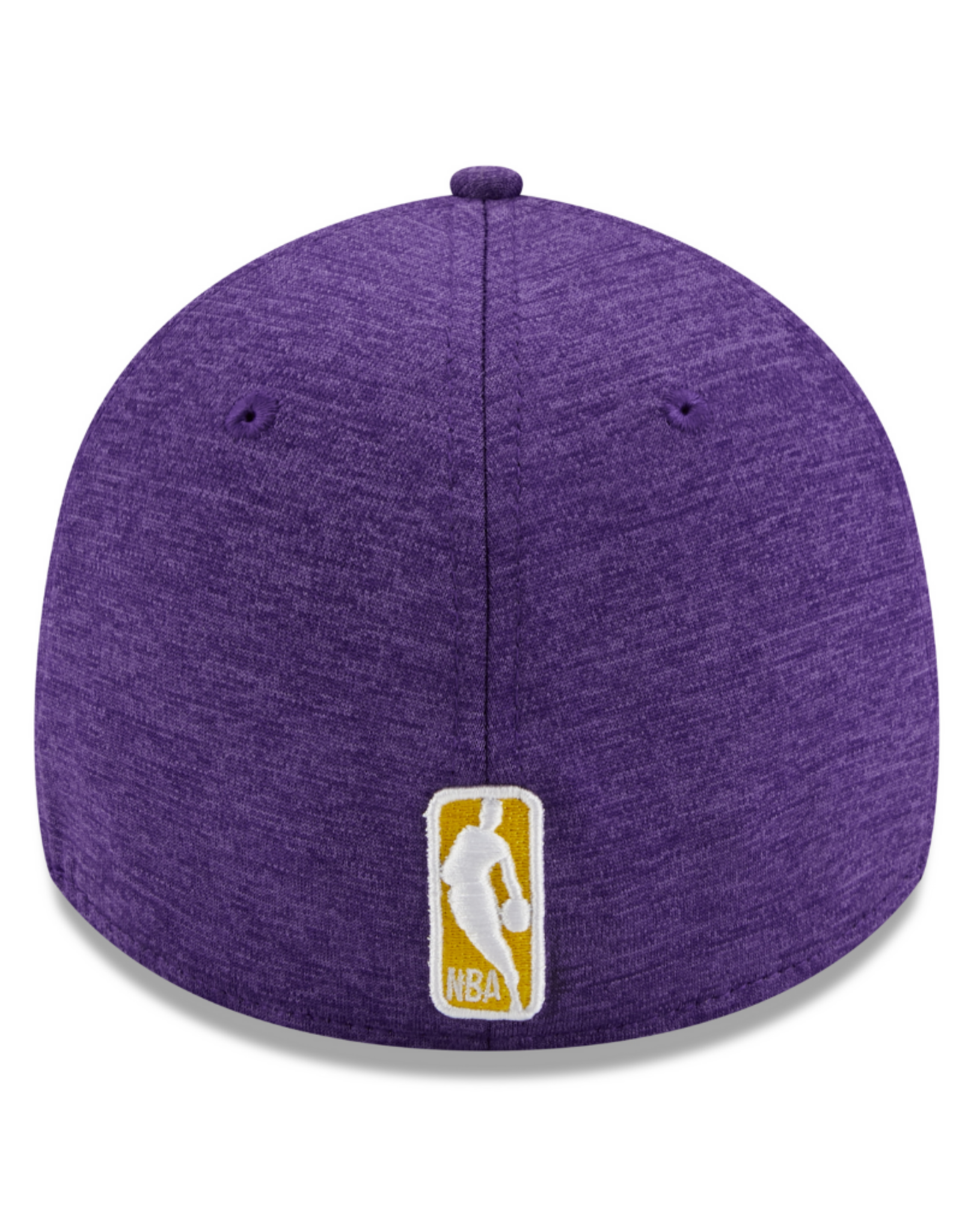 New Era Adult 39THIRTY Shadow B3 Hat Los Angeles Lakers Purple