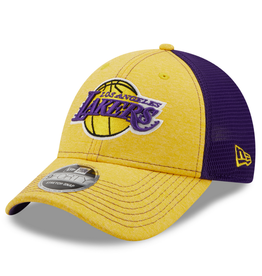 New Era Adult 9FORTY STH Neo B3 Hat Los Angeles Lakers Yellow/Purple