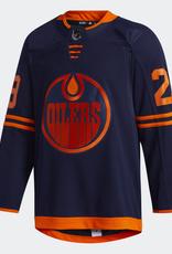 Adidas Adidas Adult Alternate Edmonton Oilers Draisaitl Jersey  Navy