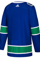 Adidas Adidas Adult Authentic Vancouver Canucks Jersey Blue