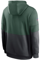 Nike Men's Sideline Hoodie Green Bay Packers Green/Grey