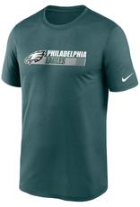 Nike Men's Team Conference T-Shirt Philadelphia Eagles Green