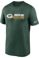 Nike Men's Team Conference T-Shirt Green Bay Packers Green