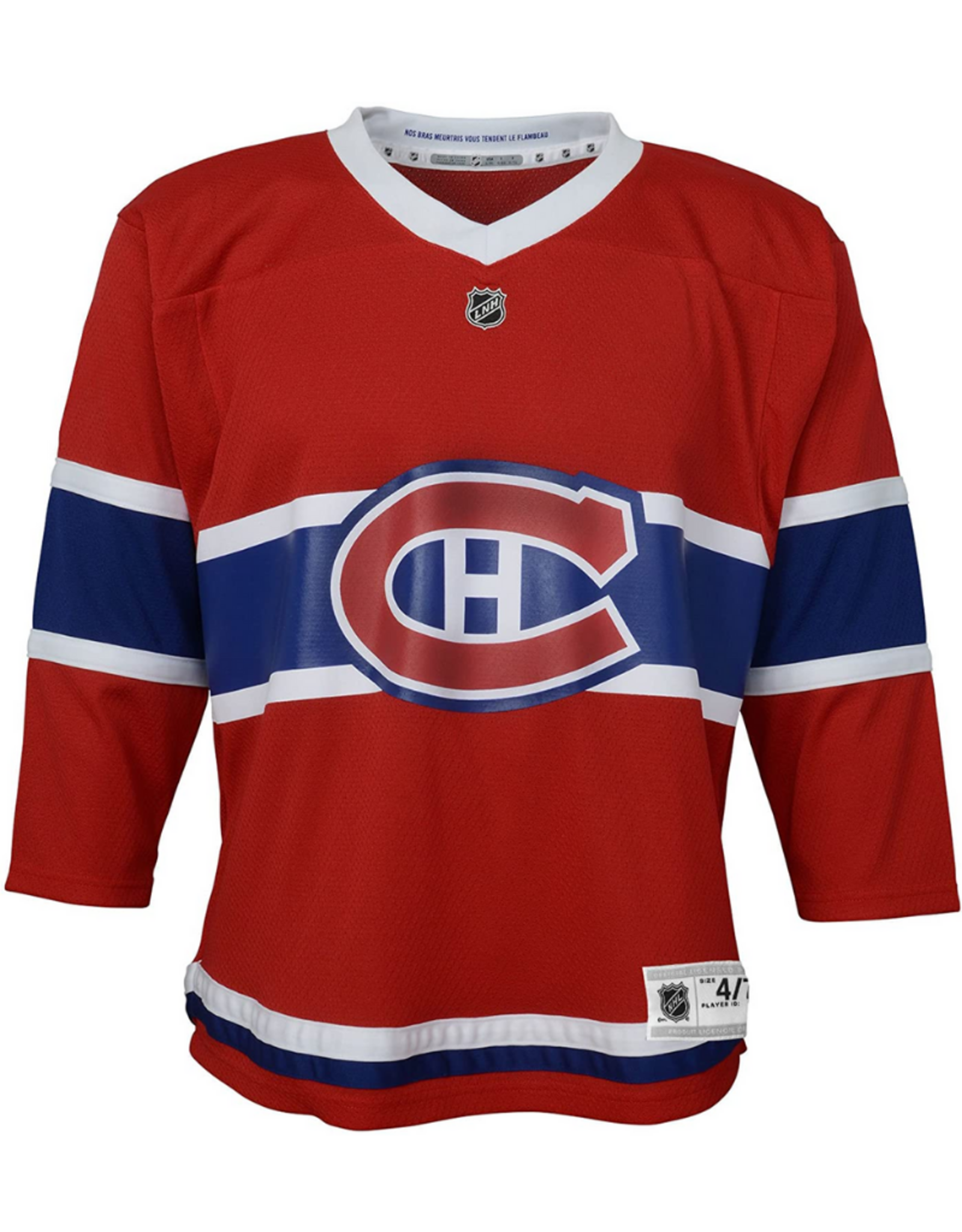 NHL Child's Jersey Montreal Canadiens Red