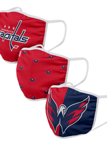 FOCO FOCO Adult Face Cover 3 Pack Washington Capitals