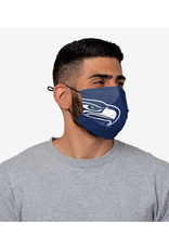 FOCO FOCO Adult Sideline Big Logo Face Cover 1 Pack Seattle Seahawks