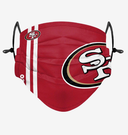 FOCO FOCO Adult Sideline Big Logo Face Cover 1 Pack San Francisco 49ers