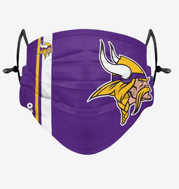 FOCO FOCO Adult Sideline Big Logo Face Cover 1 Pack Minnesota Vikings