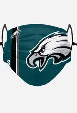 FOCO FOCO Adult Sideline Big Logo Face Cover 1 Pack Philadelphia Eagles