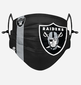 FOCO FOCO Adult Sideline Big Logo Face Cover 1 Pack Las Vegas Raiders