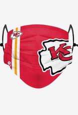FOCO FOCO Adult Sideline Big Logo Face Cover 1 Pack Kansas City Chiefs
