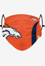 FOCO FOCO Adult Sideline Big Logo Face Cover 1Pack Denver Broncos