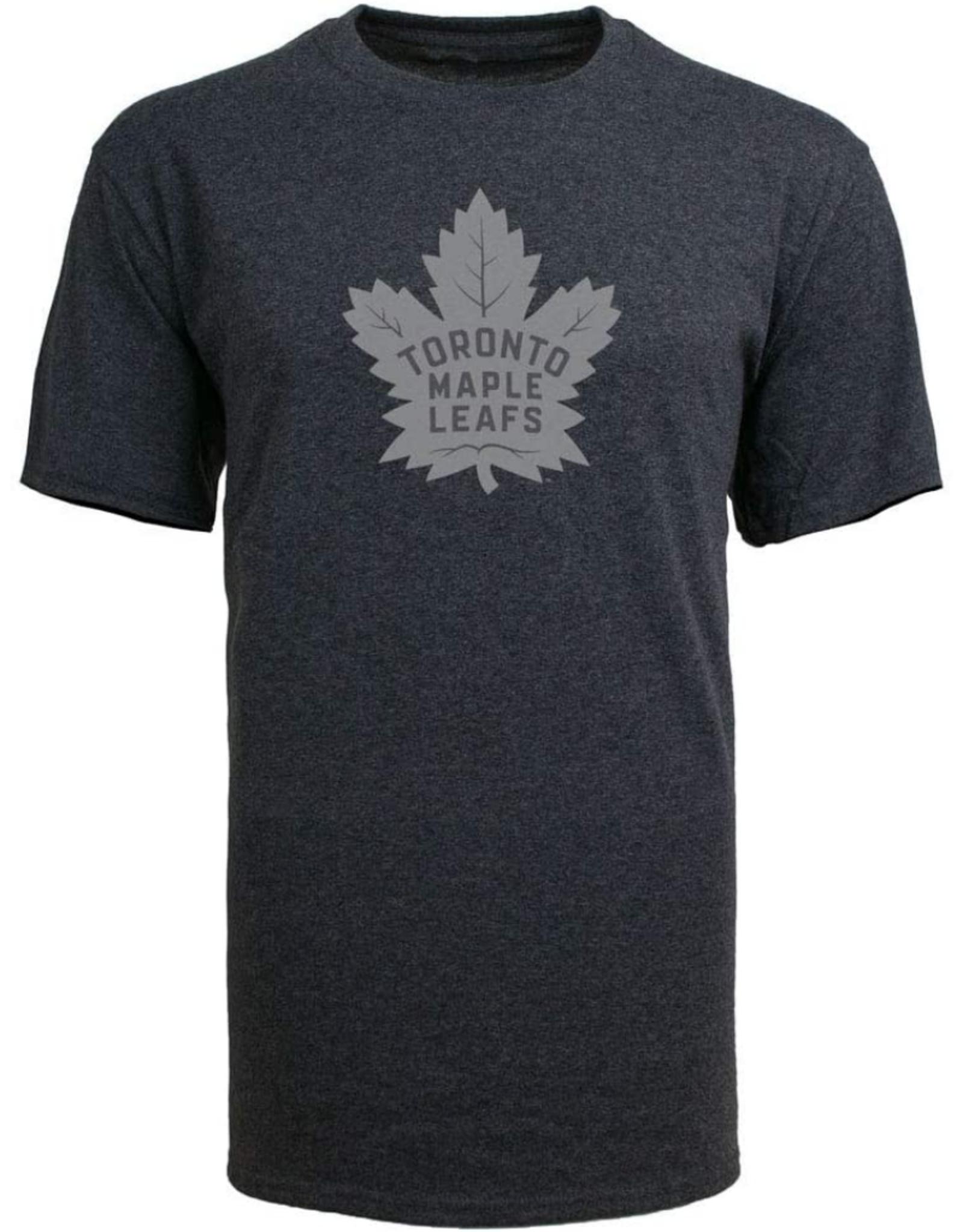 '47 Men's Carbon T-Shirt Toronto Maple Leafs Grey