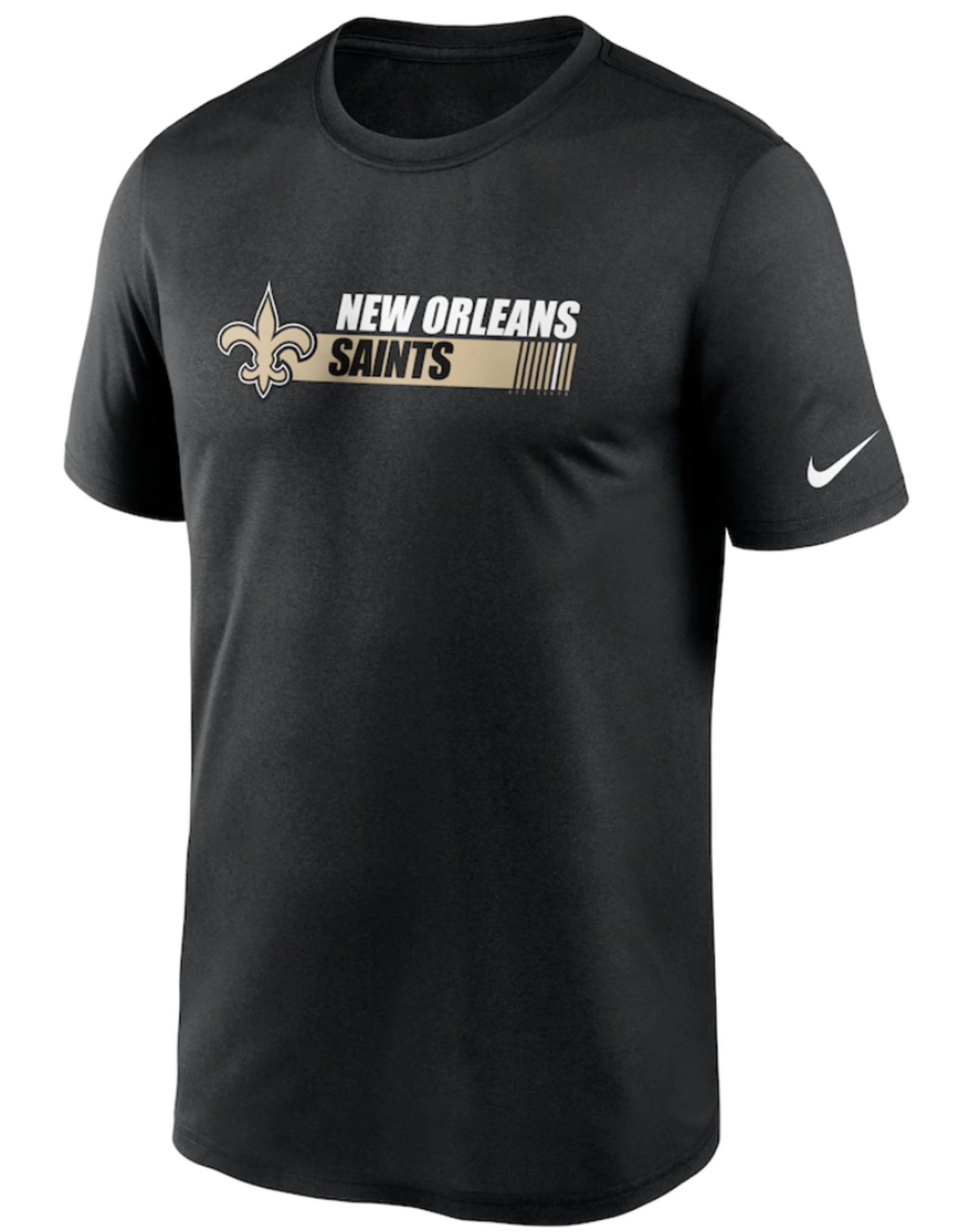 Nike Men's Team Conference T-Shirt New Orleans Saints Black