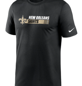 Nike Men's Team Conference T-Shirt New Orleans Saints Black