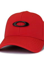 Oakley Men's Tincan Stretch-Fit Hat Red S/M