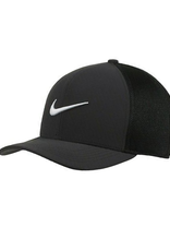 Nike Men's Aerobill Classic 99 Adjustable Mesh Hat  Black/Black