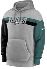 Nike Men's Heritage Hoodie Philadelphia Eagles Grey