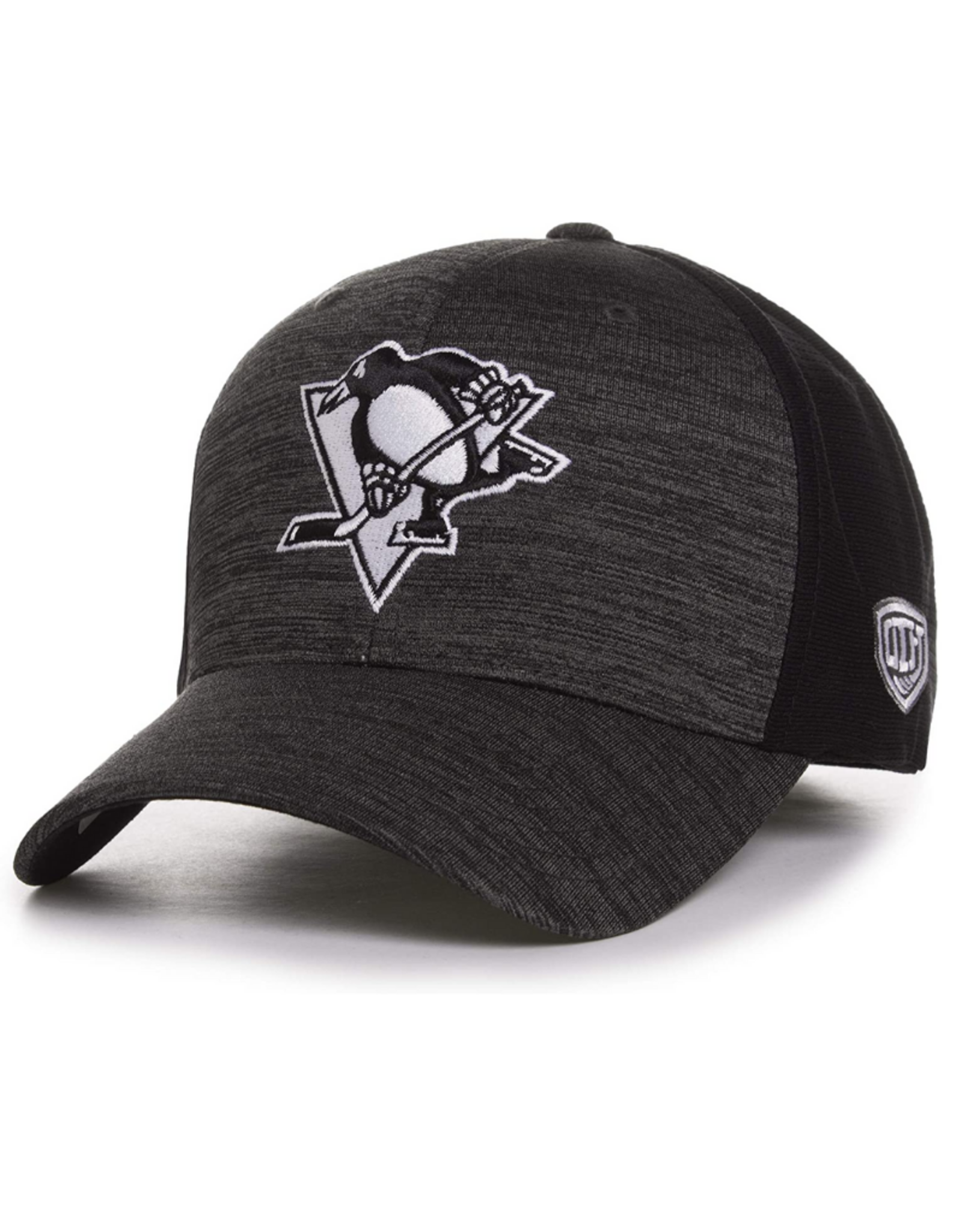 OTH Men's Ice Chip Stretch-Fit Hat OS Pittsburgh Penguins Carbon
