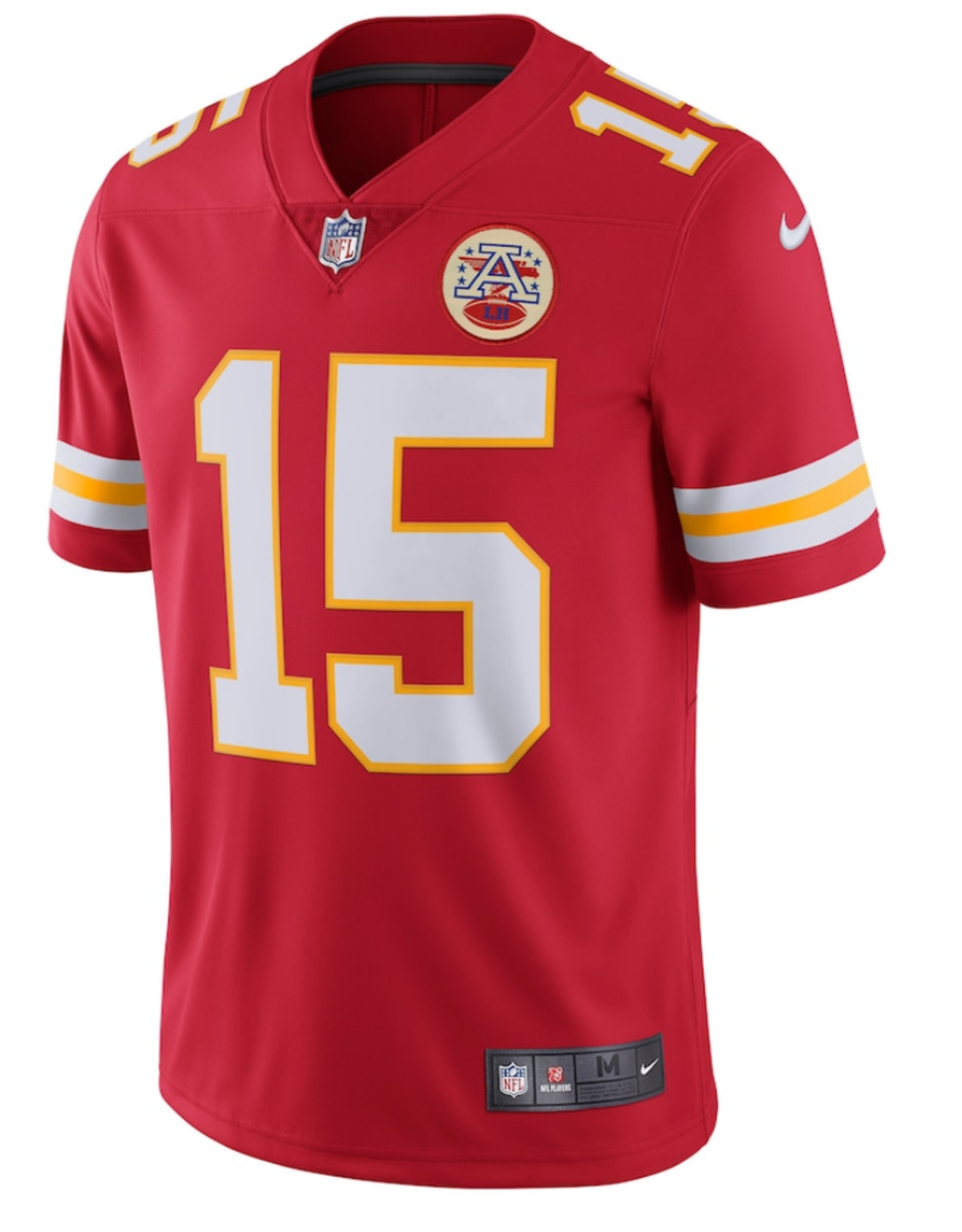 Nike Men's Limited Mahomes #15 Jersey Kansas City Chiefs Red