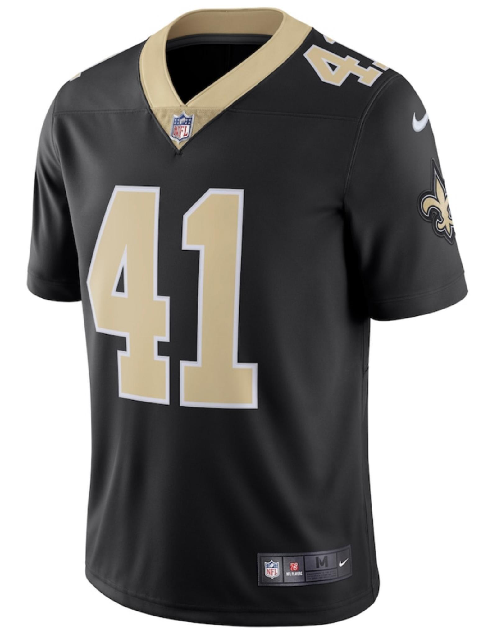 Nike Men's Limited Kamara #41 Jersey New Orleans Saints Black