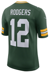 Nike Men's Limited Rodgers #12 Jersey Green Bay Packers Green