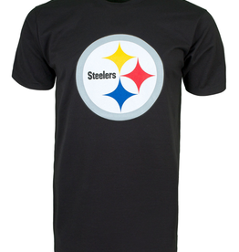 '47 Men's Fan T-Shirt Pittsburgh Steelers Black