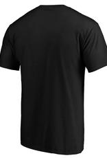 '47 Men's Fan T-Shirt Pittsburgh Steelers Black