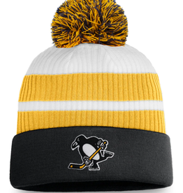 Fanatics Fanatics Men's Retro Reverse Beanie Pom Knit Pittsburgh Penguins