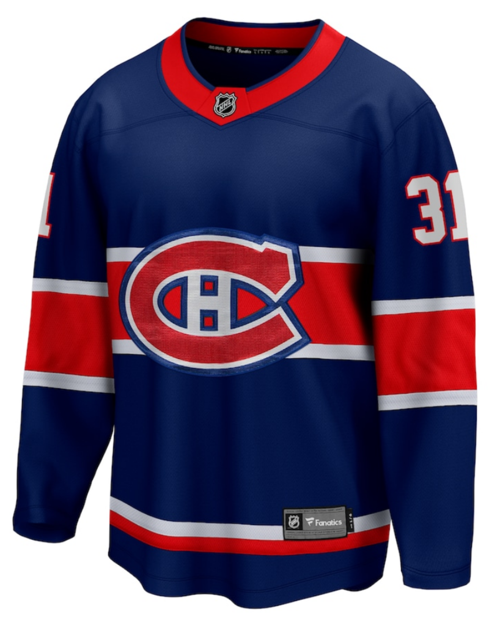 Fanatics Fanatics Men's Breakaway Price #31 Retro Reverse Jersey Montreal Canadiens