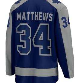 Fanatics Fanatics Men's Matthews #34 Retro Reverse Jersey Toronto Maple Leafs