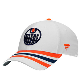 Fanatics Fanatics Men's Retro Reverse Adjustable Hat Edmonton Oilers White