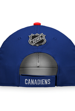 Fanatics Fanatics Men's Retro Reverse Adjustable Hat Montreal Canadiens Blue