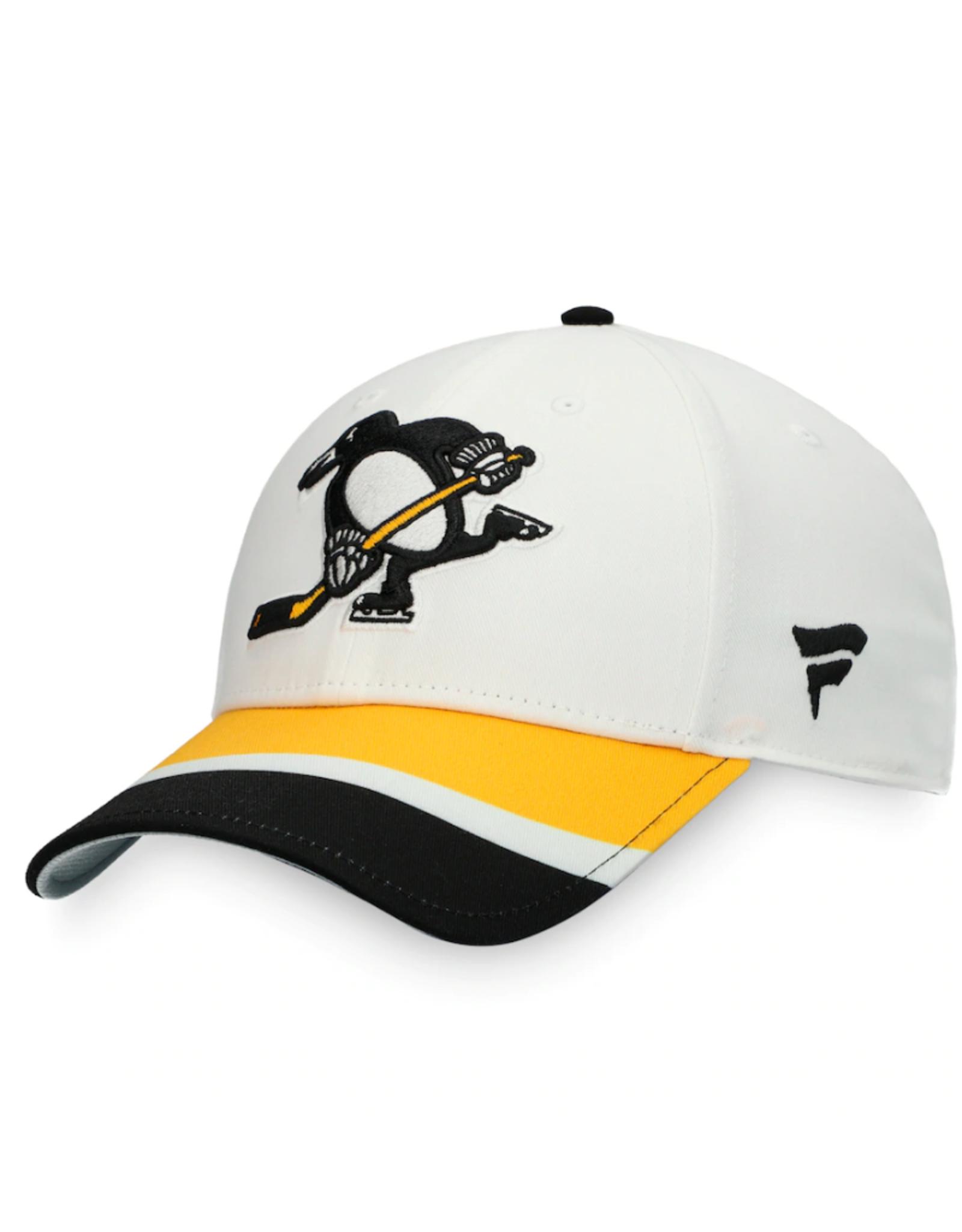 Fanatics Fanatics Men's Retro Reverse Adjustable Hat Pittsburgh Penguins White