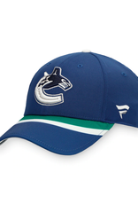 Fanatics Fanatics Men's Retro Reverse Adjustable Hat Vancouver Canucks Navy