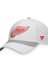 Fanatics Fanatics Men's Retro Reverse Adjustable Hat Detroit Red Wings White
