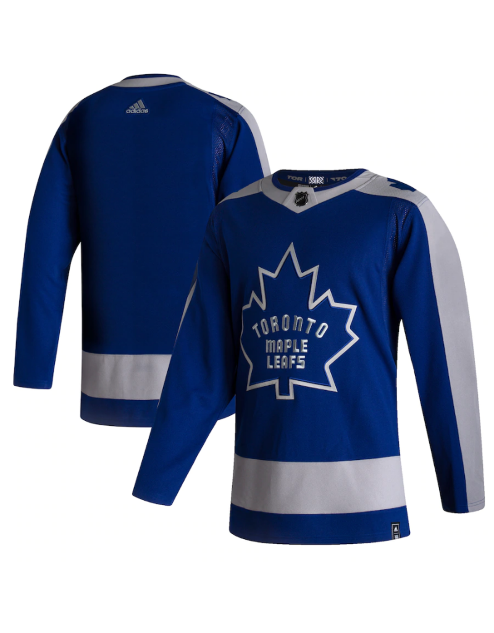 Adidas Adidas Men's Retro Reverse Jersey Toronto Maple Leafs Blue/Grey