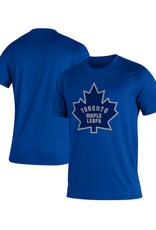 Adidas Adidas Men's Retro Reverse Creator T-Shirt Toronto Maple Leafs Blue