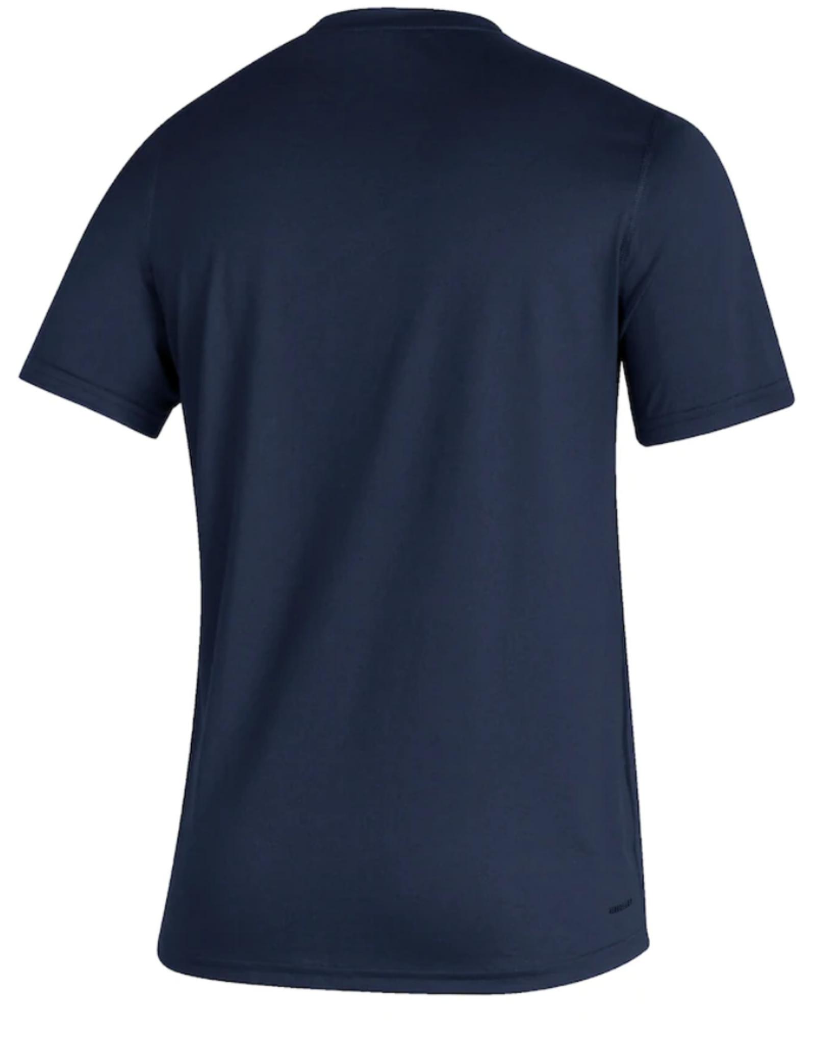 Adidas Adidas Men's Retro Reverse Creator T-Shirt Montreal Canadiens Navy