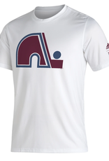 Adidas Adidas Men's Retro Reverse Creator T-Shirt Colorado Avalanche White