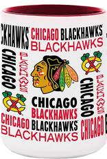 NHL 15oz Espirit Coffee Mug Chicago Blackhawks