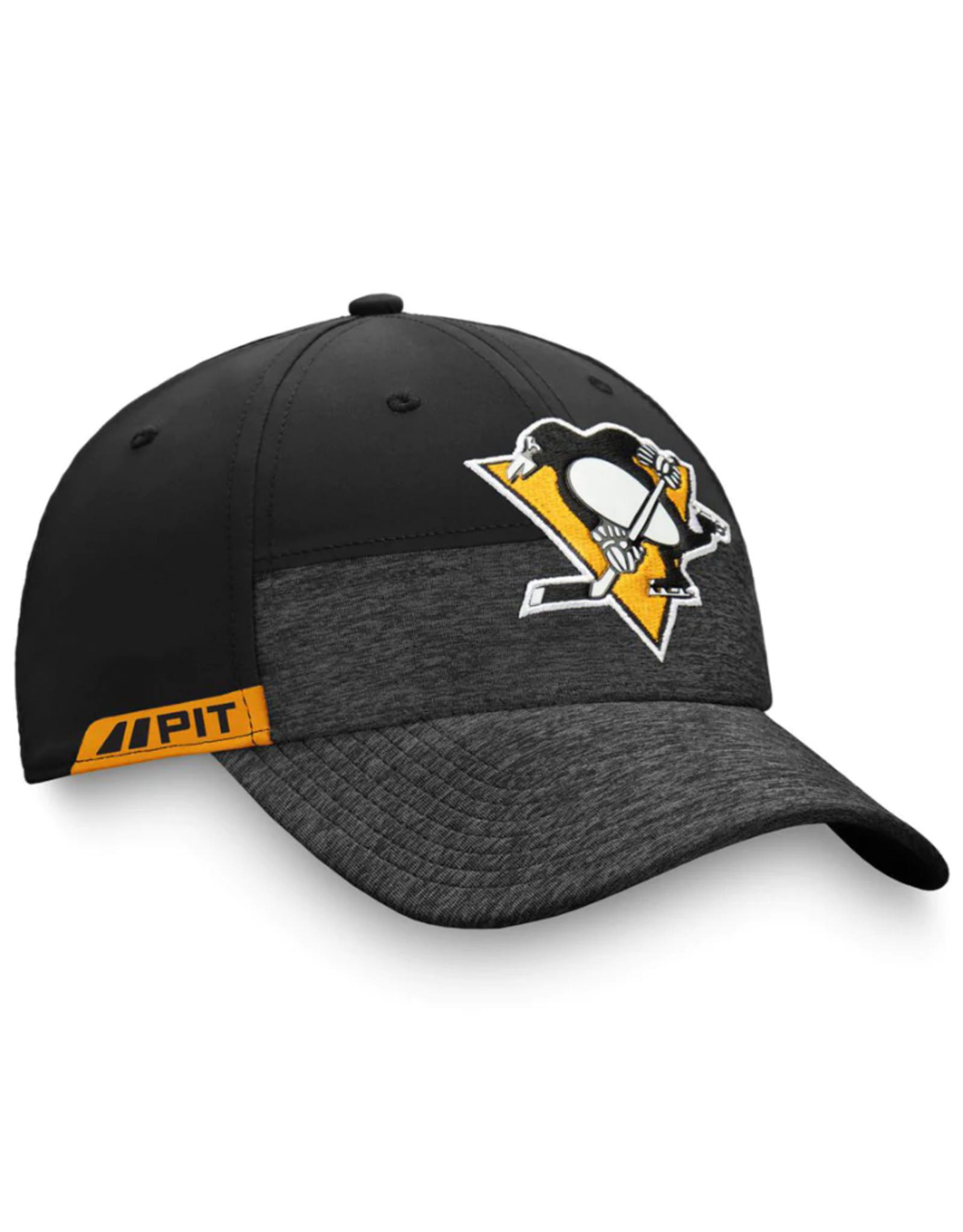 Fanatics Fanatics Men's '20 Locker Room Stretch-Fit Pittsburgh Penguins Black
