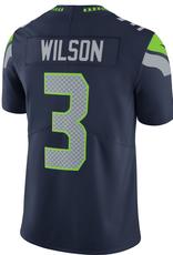 Nike Men's Limited Wilson #3 Jersey Seattle Seahawks Navy