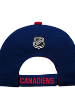 NHL Youth Basic Structured Adjustable Montreal Canadiens