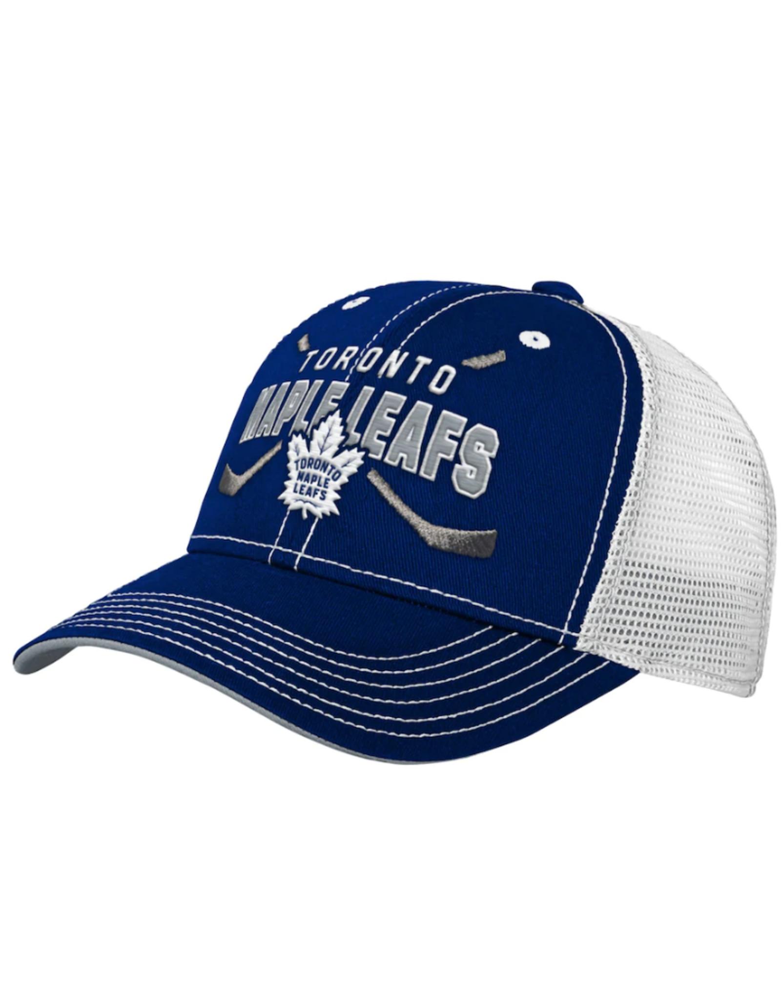 NHL Youth Lockup Mesh Adjustable Hat Toronto Maple Leafs