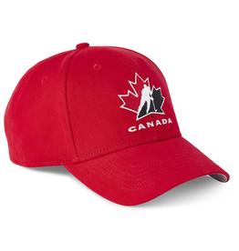 Fanatics IIHF Fanatics Primary Logo Adjustable Team Canada Red