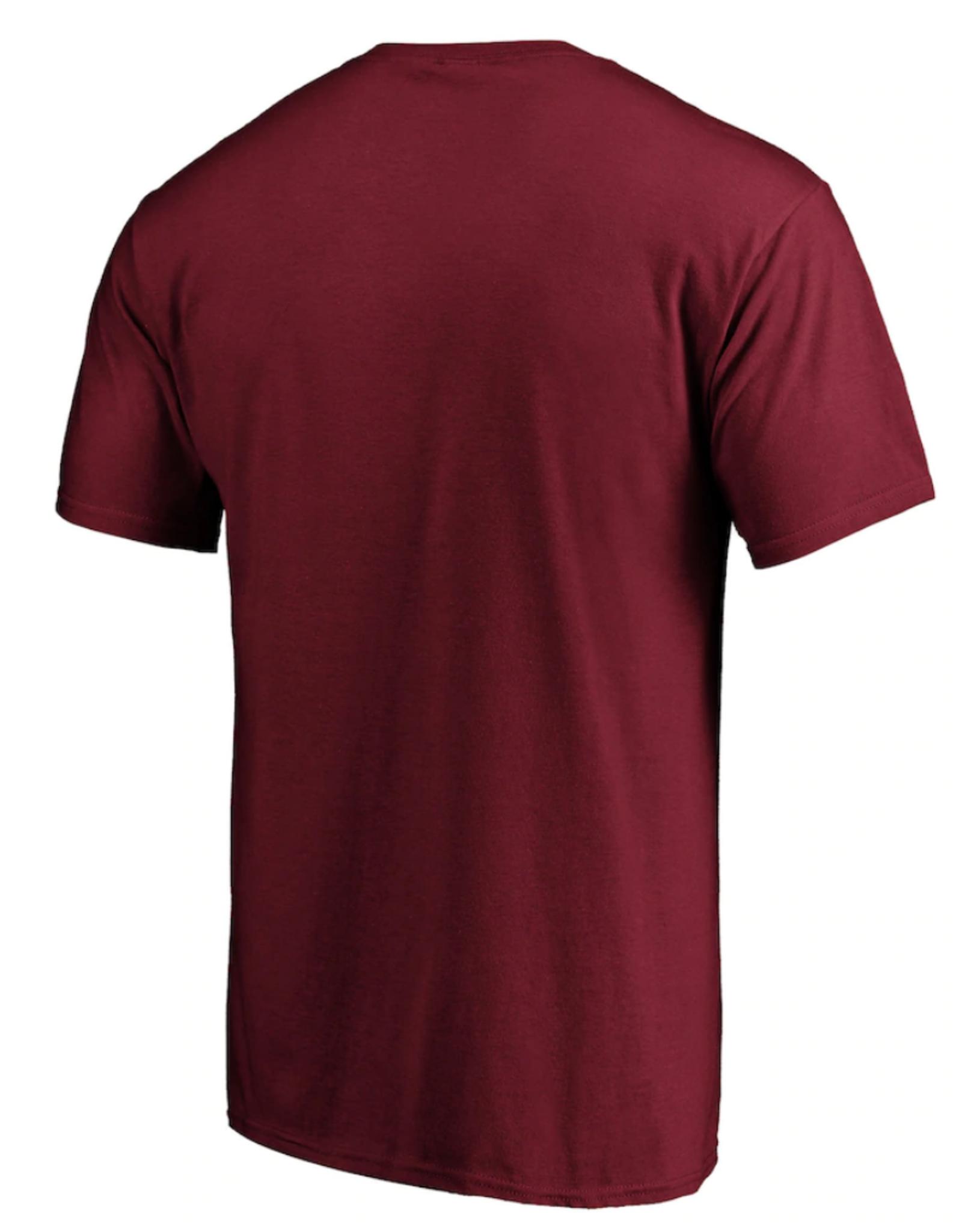 '47 Men's Fan T-Shirt Colorado Avalanche Burgandy