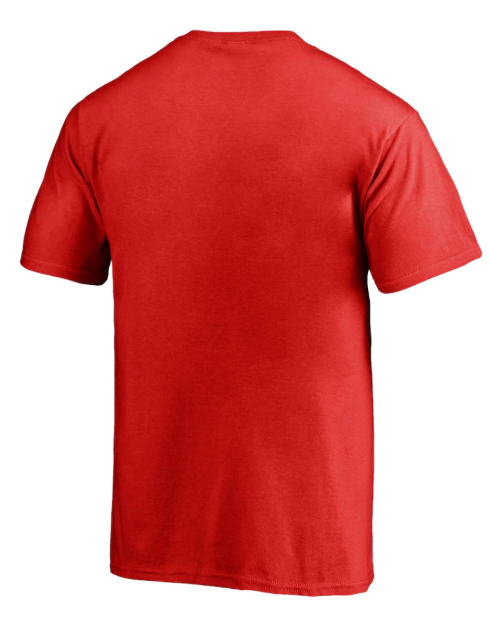 '47 Men's Fan T-shirt Detroit Red Wings Red