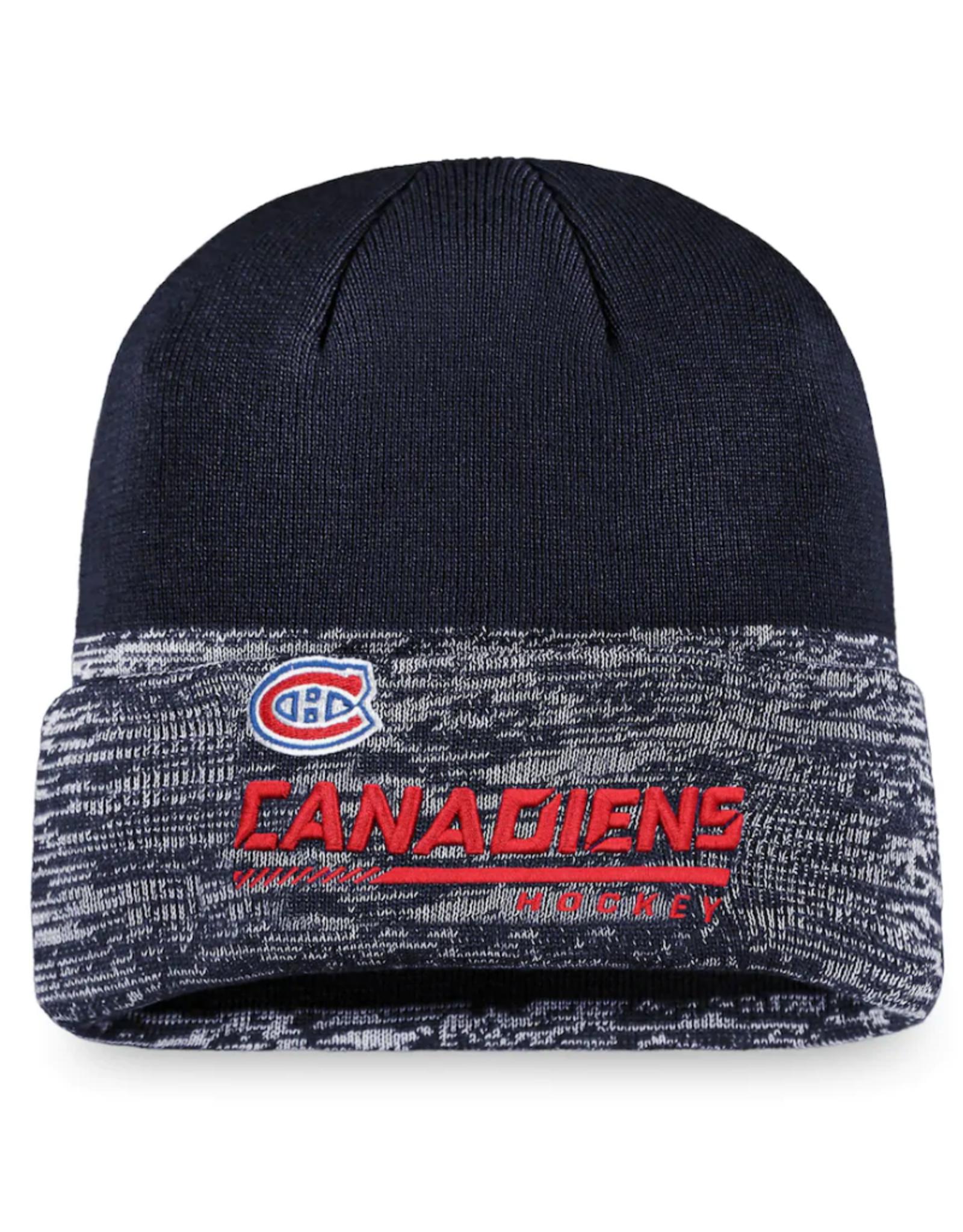 Fanatics Fanatics Men`s '20 Locker Beanie Montreal Canadiens Navy